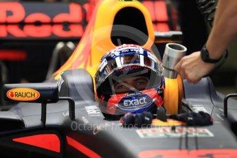 World © Octane Photographic Ltd. Formula 1 - Singapore Grand Prix - Practice 3. Max Verstappen - Red Bull Racing RB13. Marina Bay Street Circuit, Singapore. Saturday 16th September 2017. Digital Ref:1962LB1D1383
