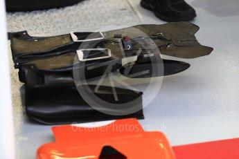 World © Octane Photographic Ltd. Formula 1 - Singapore Grand Prix - Practice 3. McLaren Honda MCL32 setup. Marina Bay Street Circuit, Singapore. Saturday 16th September 2017. Digital Ref:1962LB1D1604