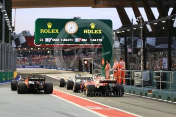World © Octane Photographic Ltd. Formula 1 - Singapore Grand Prix - Paddock. Waiting for the track to re-open. Marina Bay Street Circuit, Singapore. Saturday 16th September 2017. Digital Ref:1962LB1D1746