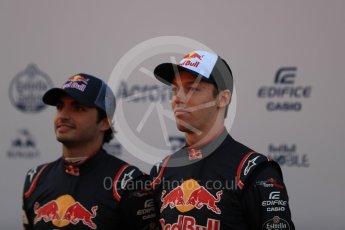 World © Octane Photographic Ltd. Scuderia Toro Rosso STR12 launch, Circuit de Barcelona-Catalunya. Sunday 26th February 2017. Digital Ref :1777LB1D7788