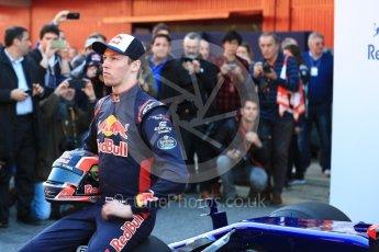 World © Octane Photographic Ltd. Scuderia Toro Rosso STR12 launch, Circuit de Barcelona-Catalunya. Sunday 26th February 2017. Digital Ref :1777LB1D7818