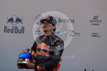 World © Octane Photographic Ltd. Scuderia Toro Rosso STR12 launch, Circuit de Barcelona-Catalunya. Sunday 26th February 2017. Digital Ref :1777LB1D7909