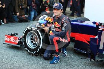 World © Octane Photographic Ltd. Scuderia Toro Rosso STR12 launch, Circuit de Barcelona-Catalunya. Sunday 26th February 2017. Digital Ref :1777LB1D7949