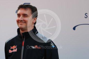 World © Octane Photographic Ltd. Scuderia Toro Rosso STR12 launch, Circuit de Barcelona-Catalunya. Sunday 26th February 2017. Digital Ref :1777LB1D7966