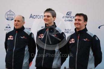 World © Octane Photographic Ltd. Scuderia Toro Rosso STR12 launch, Circuit de Barcelona-Catalunya. Sunday 26th February 2017. Digital Ref :1777LB1D8020