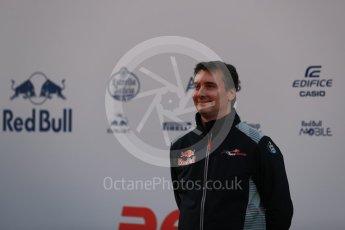 World © Octane Photographic Ltd. Scuderia Toro Rosso STR12 launch, Circuit de Barcelona-Catalunya. Sunday 26th February 2017. Digital Ref :1777LB1D8067