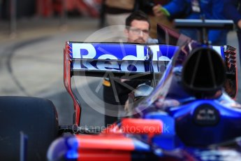 World © Octane Photographic Ltd. Scuderia Toro Rosso STR12 launch, Circuit de Barcelona-Catalunya. Sunday 26th February 2017. Digital Ref :1777LB1D8091