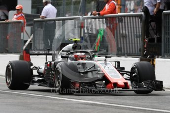 World © Octane Photographic Ltd. Formula 1 – Italian GP -Practice 3. Haas F1 Team VF-18 – Kevin Magnussen. Autodromo Nazionale di Monza, Monza, Italy. Saturday 1st September 2018.