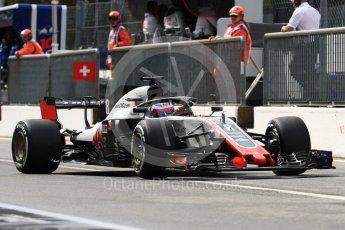 World © Octane Photographic Ltd. Formula 1 – Italian GP -Practice 3. Haas F1 Team VF-18 – Romain Grosjean. Autodromo Nazionale di Monza, Monza, Italy. Saturday 1st September 2018.