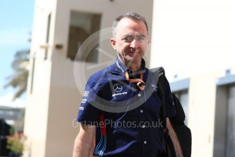 World © Octane Photographic Ltd. Formula 1 - Abu Dhabi GP - Paddock. Paddy Lowe - Chief Technical Officer at Williams Martini Racing. Yas Marina Circuit, Abu Dhabi. Saturday 24th November 2018.