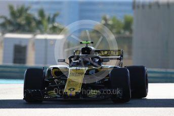World © Octane Photographic Ltd. Formula 1 – Abu Dhabi GP - Practice 1. Renault Sport F1 Team RS18 – Carlos Sainz. Yas Marina Circuit, Abu Dhabi. Friday 23rd November 2018.