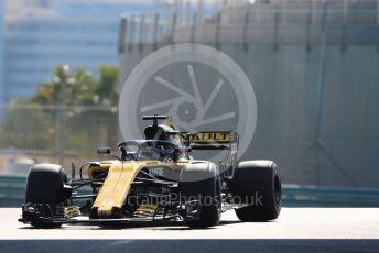 World © Octane Photographic Ltd. Formula 1 – Abu Dhabi GP - Practice 1. Renault Sport F1 Team RS18 – Nico Hulkenberg. Yas Marina Circuit, Abu Dhabi. Friday 23rd November 2018.