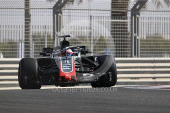 World © Octane Photographic Ltd. Formula 1 –  Abu Dhabi GP - Practice 1. Haas F1 Team VF-18 – Romain Grosjean. Yas Marina Circuit, Abu Dhabi. Friday 23rd November 2018.