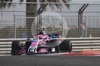 World © Octane Photographic Ltd. Formula 1 – Abu Dhabi GP - Practice 1. Racing Point Force India VJM11 - Esteban Ocon. Yas Marina Circuit, Abu Dhabi. Friday 23rd November 2018.