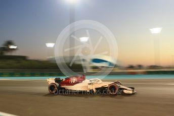 World © Octane Photographic Ltd. Formula 1 –  Abu Dhabi GP - Practice 2. Alfa Romeo Sauber F1 Team C37 – Marcus Ericsson. Yas Marina Circuit, Abu Dhabi. Friday 23rd November 2018.