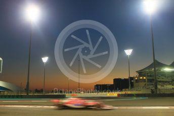 World © Octane Photographic Ltd. Formula 1 –  Abu Dhabi GP - Practice 2. Racing Point Force India VJM11 - Sergio Perez. Yas Marina Circuit, Abu Dhabi. Friday 23rd November 2018.