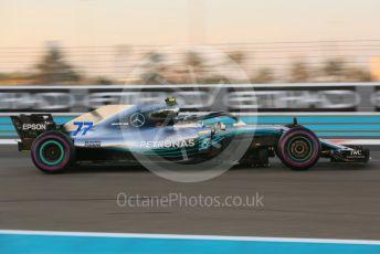 World © Octane Photographic Ltd. Formula 1 –  Abu Dhabi GP - Practice 2. Mercedes AMG Petronas Motorsport AMG F1 W09 EQ Power+ - Valtteri Bottas. Yas Marina Circuit, Abu Dhabi. Friday 23rd November 2018.