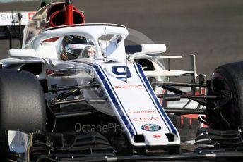 World © Octane Photographic Ltd. Formula 1 – Abu Dhabi GP - Practice 3. Alfa Romeo Sauber F1 Team C37 – Marcus Ericsson. Yas Marina Circuit, Abu Dhabi. Saturday 24th November 2018.