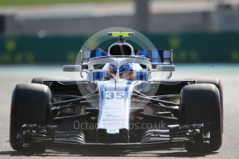 World © Octane Photographic Ltd. Formula 1 –  Abu Dhabi GP - Practice 3. Williams Martini Racing FW41 – Sergey Sirotkin. Yas Marina Circuit, Abu Dhabi. Saturday 24th November 2018.