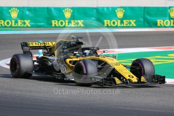 World © Octane Photographic Ltd. Formula 1 –  Abu Dhabi GP - Practice 3. Renault Sport F1 Team RS18 – Nico Hulkenberg. Yas Marina Circuit, Abu Dhabi. Saturday 24th November 2018.