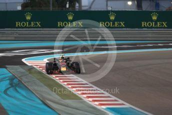 World © Octane Photographic Ltd. Formula 1 –  Abu Dhabi GP - Qualifying. Aston Martin Red Bull Racing TAG Heuer RB14 – Max Verstappen. Yas Marina Circuit, Abu Dhabi. Saturday 24th November 2018.