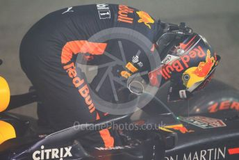 World © Octane Photographic Ltd. Formula 1 – Abu Dhabi GP - Post-race. Aston Martin Red Bull Racing TAG Heuer RB14 – Max Verstappen. Yas Marina Circuit, Abu Dhabi. Sunday 25th November 2018.