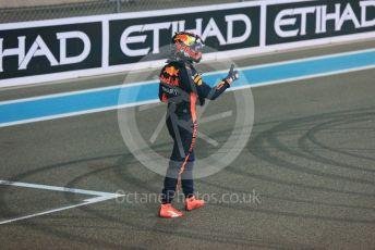World © Octane Photographic Ltd. Formula 1 –  Abu Dhabi GP - Post-race. Aston Martin Red Bull Racing TAG Heuer RB14 – Max Verstappen. Yas Marina Circuit, Abu Dhabi. Sunday 25th November 2018.