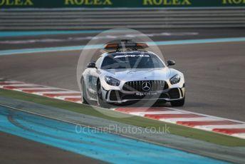 World © Octane Photographic Ltd. Formula 1 –  Abu Dhabi GP - Race. Mercedes AMG GT Safety Car. Yas Marina Circuit, Abu Dhabi. Sunday 25th November 2018.