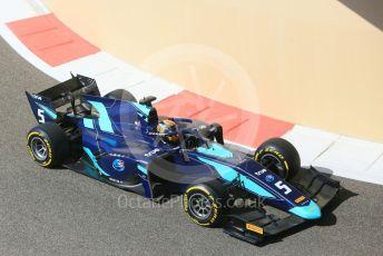 World © Octane Photographic Ltd. FIA Formula 2 (F2) – Abu Dhabi GP - Practice. DAMS - Alexander Albon. Yas Marina Circuit, Abu Dhabi. Friday 23rd November 2018.