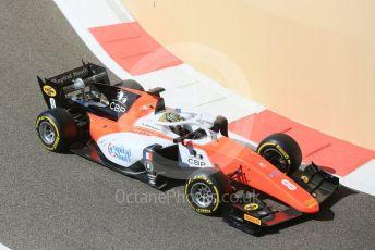 World © Octane Photographic Ltd. FIA Formula 2 (F2) – Abu Dhabi GP - Practice. MP Motorsport - Dorian Boccolacci. Yas Marina Circuit, Abu Dhabi. Friday 23rd November 2018.