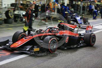 World © Octane Photographic Ltd. FIA Formula 2 (F2) – Abu Dhabi GP - Race 1. ART Grand Prix - George Russell. Yas Marina Circuit, Abu Dhabi. Saturday 24th November 2018.