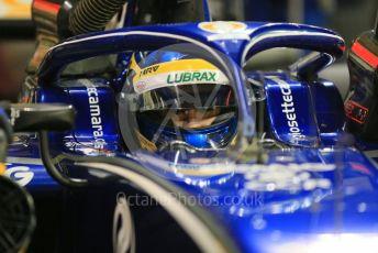 World © Octane Photographic Ltd. FIA Formula 2 (F2) – Abu Dhabi GP - Race 1. Carlin - Lando Norris. Yas Marina Circuit, Abu Dhabi. Saturday 24th November 2018.