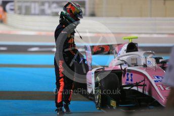 World © Octane Photographic Ltd. FIA Formula 2 (F2) – Abu Dhabi GP - Race 1. BWT Arden - Nirei Fukuzumi. Yas Marina Circuit, Abu Dhabi. Saturday 24th November 2018.