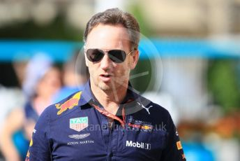 World © Octane Photographic Ltd. Formula 1 - Abu Dhabi GP - Paddock. Christian Horner - Team Principal of Red Bull Racing. Yas Marina Circuit, Abu Dhabi. Friday 23rd November 2018.