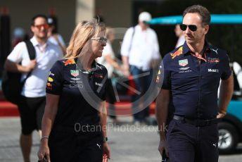 World © Octane Photographic Ltd. Formula 1 - Abu Dhabi GP - Paddock. Christian Horner - Team Principal of Red Bull Racing. Yas Marina Circuit, Abu Dhabi. Friday 23rd November 2018.