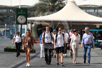 World © Octane Photographic Ltd. Formula 1 –  Abu Dhabi GP - Paddock. McLaren MCL33 – Stoffel Vandoorne. Yas Marina Circuit, Abu Dhabi. Friday 23rd November 2018.