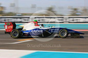 World © Octane Photographic Ltd. GP3 – Abu Dhabi GP – Qualifying. Trident - David Beckmann. Yas Marina Circuit, Abu Dhabi. Friday 23rd November 2018.