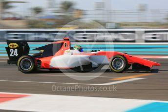 World © Octane Photographic Ltd. GP3 – Abu Dhabi GP – Qualifying. MP Motorsport - Jehan Daruvala. Yas Marina Circuit, Abu Dhabi. Friday 23rd November 2018.