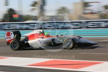 World © Octane Photographic Ltd. GP3 – Abu Dhabi GP – Qualifying. Campos Racing – Leodardo Pulcini. Yas Marina Circuit, Abu Dhabi. Friday 23rd November 2018.