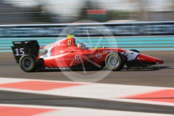World © Octane Photographic Ltd. GP3 – Abu Dhabi GP – Qualifying. Arden International – Sacha Fenestraz. Yas Marina Circuit, Abu Dhabi. Friday 23rd November 2018.