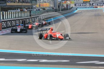 World © Octane Photographic Ltd. GP3 – Abu Dhabi GP – Race 1. Arden International - Joey Mawson. Yas Marina Circuit, Abu Dhabi. Saturday 24th November 2018.