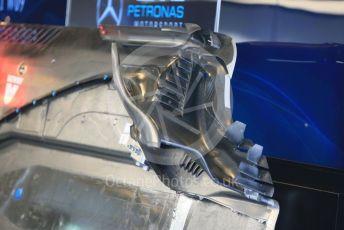 World © Octane Photographic Ltd. Formula 1 –  Abu Dhabi GP - Race day setup. Mercedes AMG Petronas Motorsport AMG F1 W09 EQ Power+. Yas Marina Circuit, Abu Dhabi. Sunday 25th November 2018.