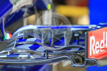 World © Octane Photographic Ltd. Formula 1 –  Abu Dhabi GP - Paddock. Scuderia Toro Rosso STR13. Yas Marina Circuit, Abu Dhabi. Thursday 22nd November 2018.