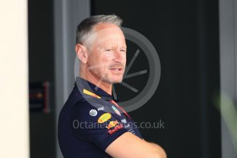 World © Octane Photographic Ltd. Formula 1 - Abu Dhabi GP - Paddock. Paul Monaghan - Chief Engineer of Red Bull Racing. Yas Marina Circuit, Abu Dhabi. Thursday 22nd November 2018.