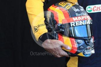 World © Octane Photographic Ltd. Formula 1 – Australian GP - Driver Photo Call. Renault Sport F1 Team RS18 – Carlos Sainz. Albert Park, Melbourne, Australia. Thursday 22nd March 2018.