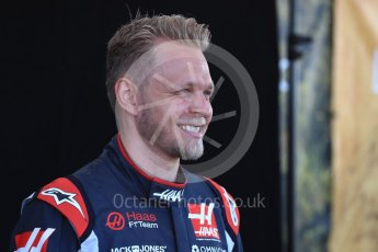 World © Octane Photographic Ltd. Formula 1 – Australian GP - Driver Photo Call. Haas F1 Team VF-18 – Kevin Magnussen. Albert Park, Melbourne, Australia. Thursday 22nd March 2018.