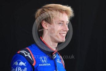 World © Octane Photographic Ltd. Formula 1 – Australian GP - Driver Photo Call. Scuderia Toro Rosso STR13 – Brendon Hartley. Albert Park, Melbourne, Australia. Thursday 22nd March 2018.