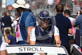 World © Octane Photographic Ltd. Formula 1 – Australian GP - Drivers' Parade. Williams Martini Racing FW41 – Lance Stroll. Albert Park, Melbourne, Australia. Sunday 25th March 2018.
