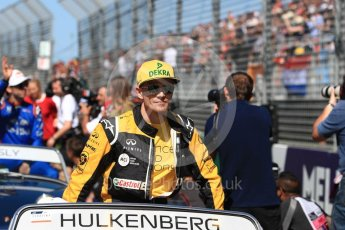 World © Octane Photographic Ltd. Formula 1 – Australian GP - Drivers' Parade. Renault Sport F1 Team RS18 – Nico Hulkenberg. Albert Park, Melbourne, Australia. Sunday 25th March 2018.