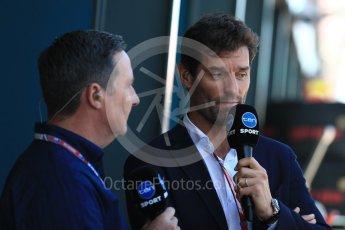World © Octane Photographic Ltd. Formula 1 – Australian GP - Grid. Mark Webber. Albert Park, Melbourne, Australia. Sunday 25th March 2018.